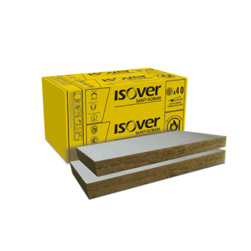 Vata minerala bazaltica ISOVER PLE 100 ALU
