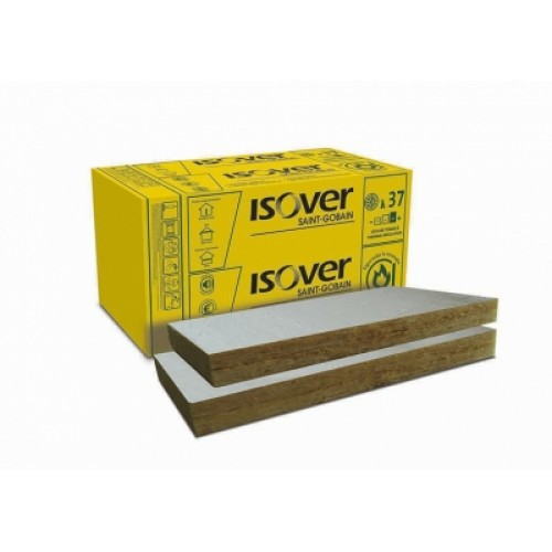 Vata minerala bazaltica ISOVER PLU 100 ALU
